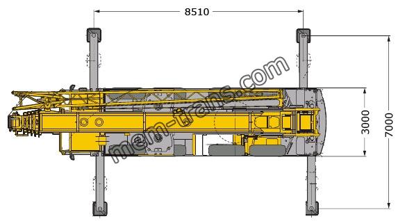 LTM1090 автокран 90т