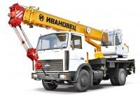 Кран 16 тонн на базе МАЗ