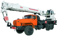 Автокран 32 тонны на базе урал